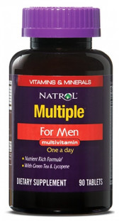 Natrol Multiple For Men Multivitamin (90 таб)