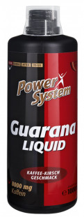 Power System Guarana Liquid 8000мг бутылка (1000 мл)
